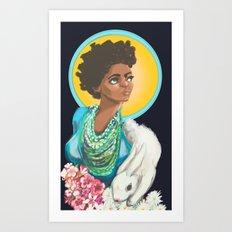Mary Art Print