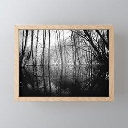 Tree Lines Framed Mini Art Print