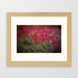 Tokyo Leaves Framed Art Print