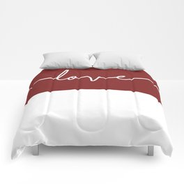 Love You - Red Edition Comforters