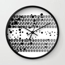 Quick Getaway Wall Clock