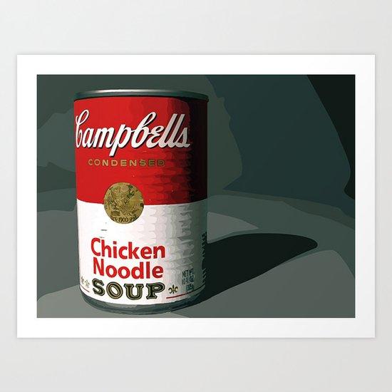 Campbells Art Print