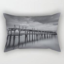 The old Wooden Bridge Rectangular Pillow