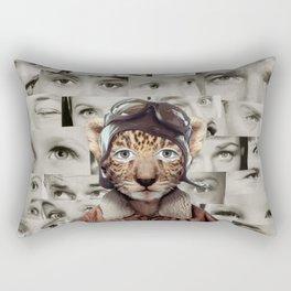 The Show Must Go On Rectangular Pillow