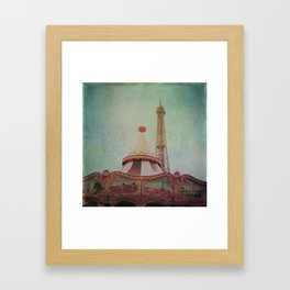 Bohemia of Paris Framed Art Print
