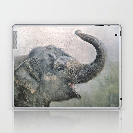 Happy Elephant! Laptop & iPad Skin