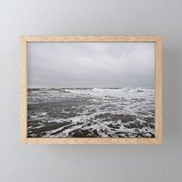 After the Wave Framed Mini Art Print
