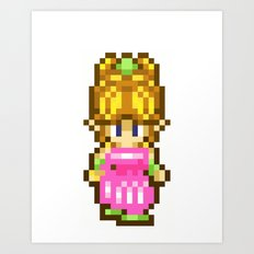 Secret of Mana Girl Art Print