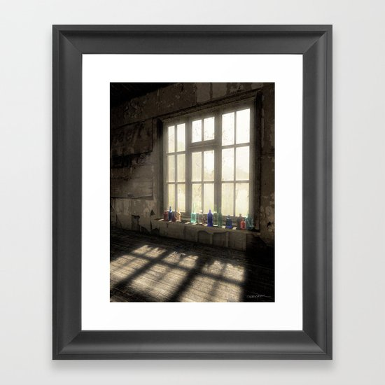 Sun Patch Framed Art Print