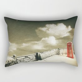 Winter in the Cotswolds, England Rectangular Pillow