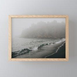 The Black Beach, North Shore Minnesota | Nature and Landscape Photography Framed Mini Art Print