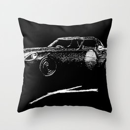 Jaguar sl Throw Pillow