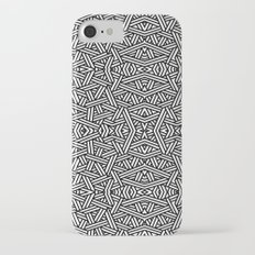 Black and White Vector iPhone 7 Slim Case