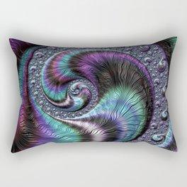 Fractal Art-Abalone Rectangular Pillow