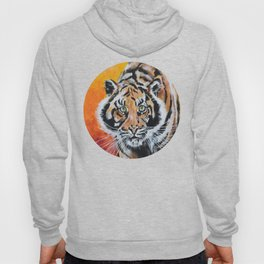 Three Lucky Tigers Hoody