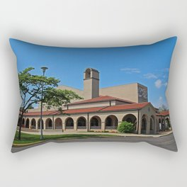 Lourdes University-  Franciscan Center in the Spring VIII Rectangular Pillow