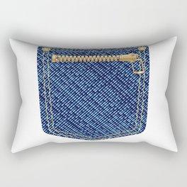 Zipper Pocket Rectangular Pillow