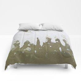 fish backbone Comforters