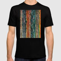Trunks of Trees Mens Fitted Tee MEDIUM Black