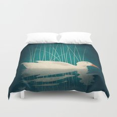 Duck Reflected Duvet Cover