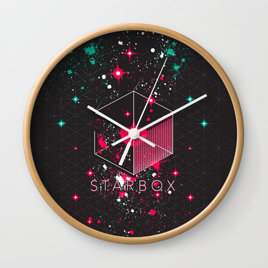 STARBOX Wall Clock