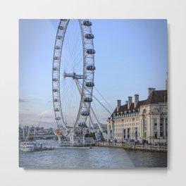 The London Eye in London I | Color Photography | Travel Photography | Photo Print | Art Print Metal Print