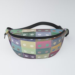 VHS Tapes Fanny Pack