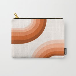 Sooky Sooky - retro minimal 70s style vibes rainbow minimalist 1970's color palette Carry-All Pouch