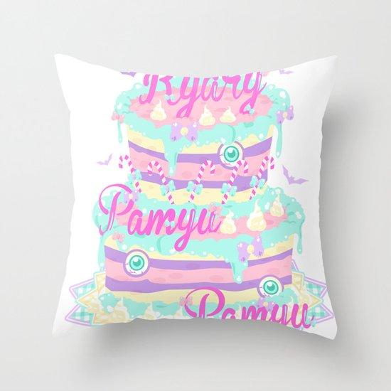 Kyary Pamyu Pamyu 5 T-shirt Throw Pillow