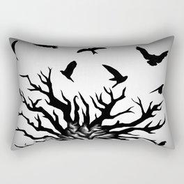 under dry roots. Rectangular Pillow