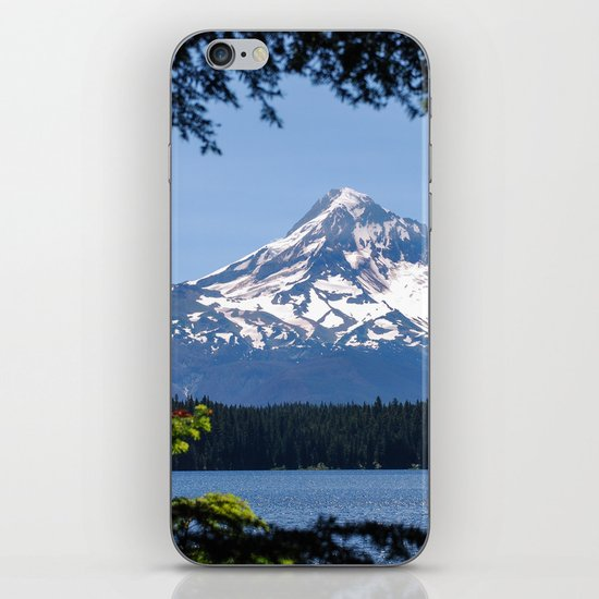 Mount Hood from Lost Lake iPhone & iPod Skin