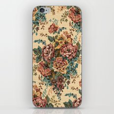 ANTIQUE BOUQUET iPhone & iPod Skin