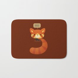 Little Furry Friends - Red Panda Bath Mat