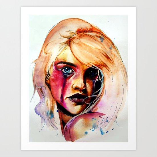 Acerbic Art Print