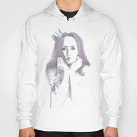 crown Hoodies featuring Crown by Ivanna Stefanova