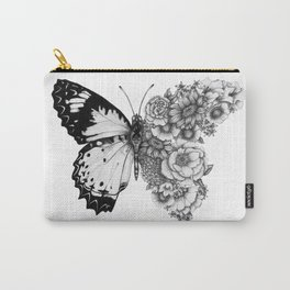 Butterfly in Bloom Carry-All Pouch