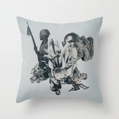 Bloodfire Throw Pillow