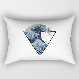 Equivalent Wave Rectangular Pillow