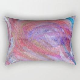 Cracking The Crown Rectangular Pillow