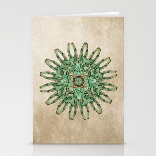 Luna Moth Circle  Stationery Cards