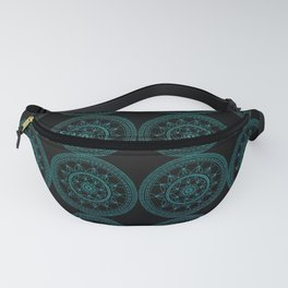 Geometric Sunflower (GBP) Fanny Pack