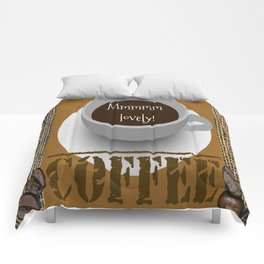 Lovely Coffee Comforters