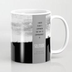 Henry David Thoreau - Solitude Mug
