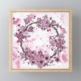 Plum Blossoms Framed Mini Art Print