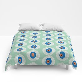 Evil Eye Charm - Hemlock  Comforters