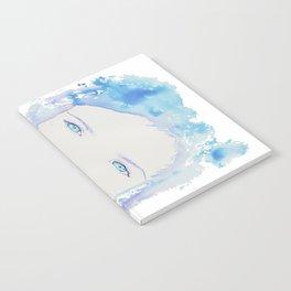 Blue eyes Notebook
