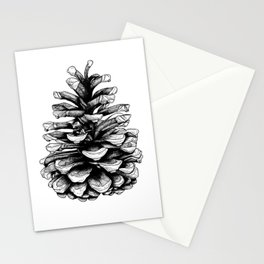 Fir Cone Stationery Cards
