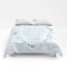 Seek First His Kingdom - Matthew 6:33 Comforters
