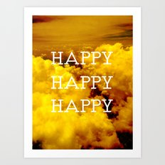 Happy Happy Happy II Art Print
