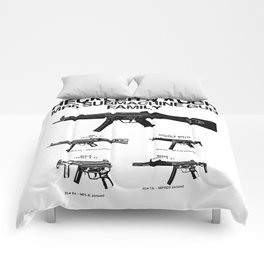 MP5 SUBMACHINE GUN FAMILY Comforters
